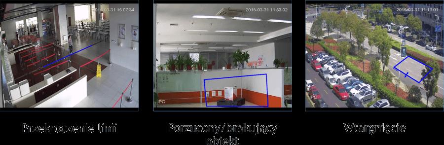 Kamerový modul je zodpovedný za funkcie analýzy obrazu sú k dispozícii: