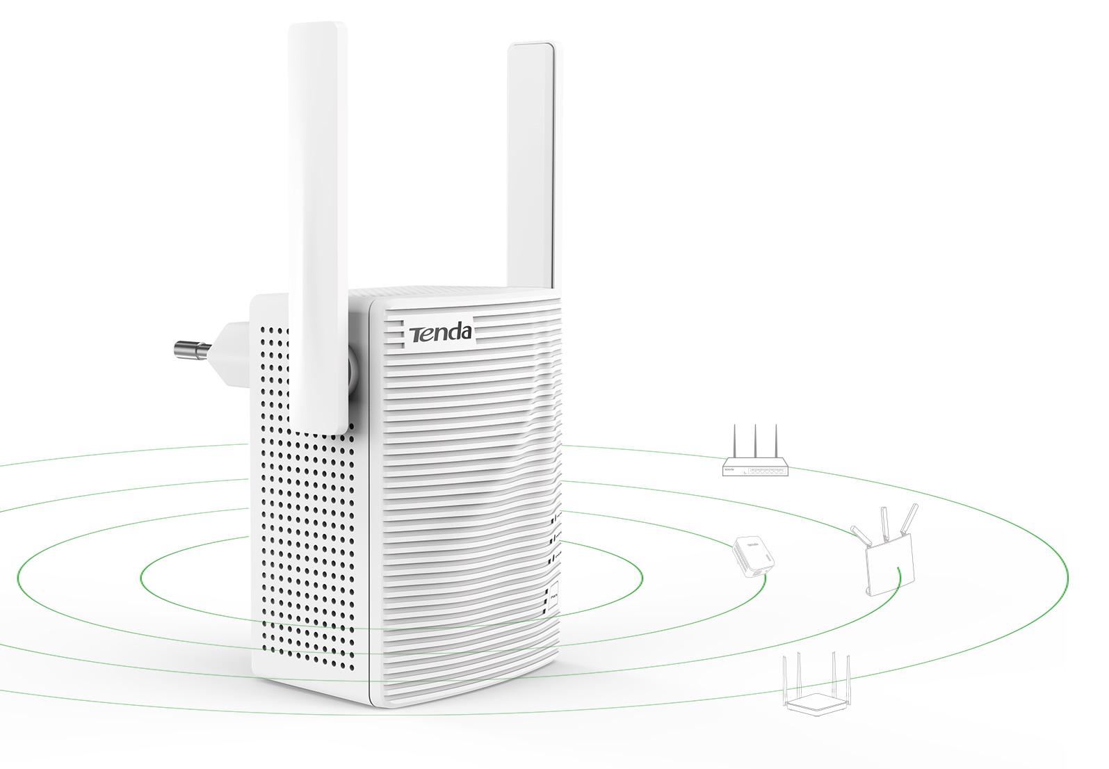 Kompatybilny z dowolnym routerem WiFi