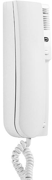 Laskomex LY-8M biały Unifon cyfrowy z sygnalizacją wywołania - LED, regulacją głośności, ster.bramą