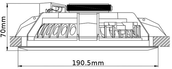 VATS glosnik-sufitowy-podtynkowy-hqm-hqm-soz10