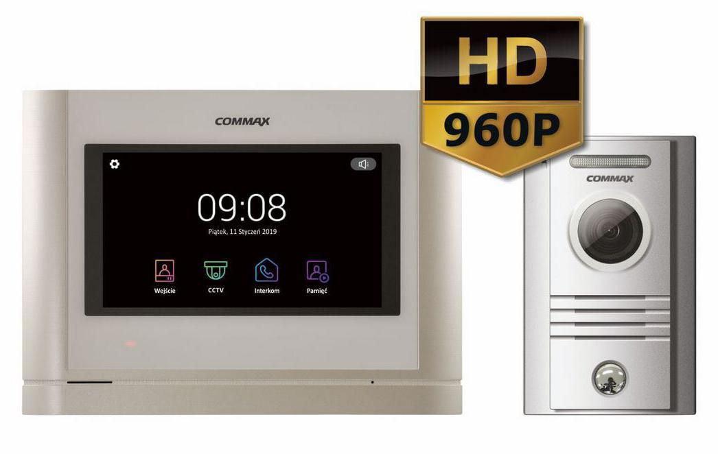 WIDEODOMOFON COMMAX CDV-704MA/DRC-40KHD 7''