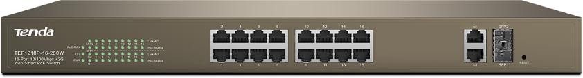 Switch z zabezpieczeniem przed piorunami 6 KV PoE i zaawansowane funkcjonalności monitoringu