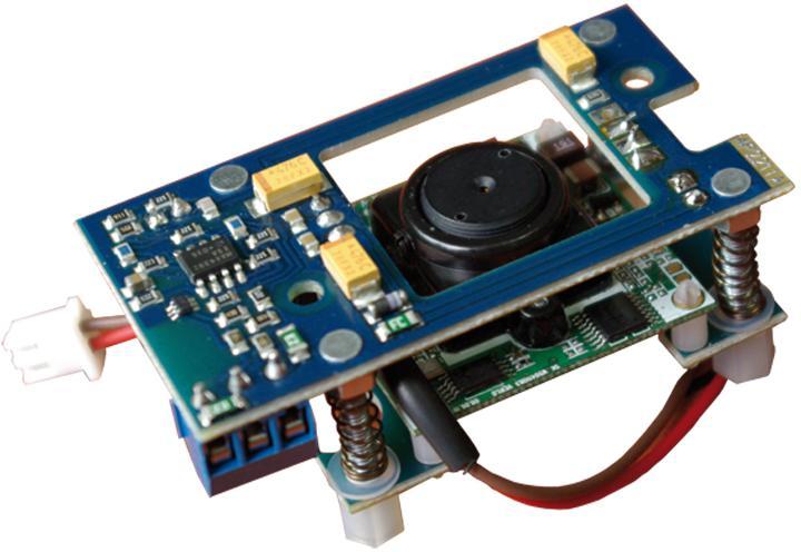 Laskomex KAM3P-1 moduł kolorowej kamery do paneli malowanych proszkowo