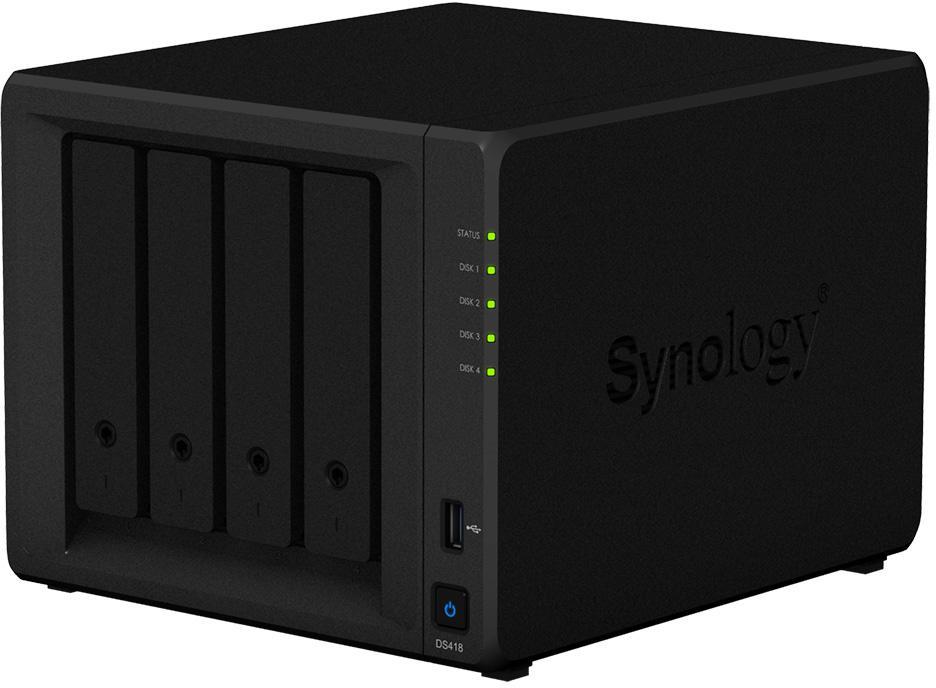 Uniwersalny 4-kieszeniowy serwer NAS do szybkiego udostępniania plików i scentralizowanego zarządzania danymi
