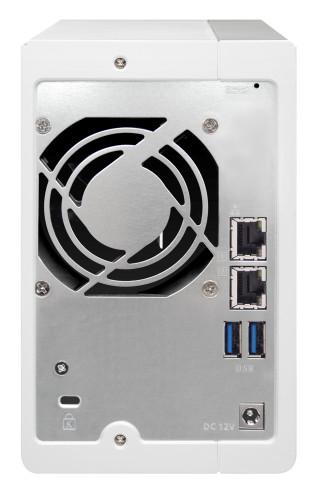 Duża efektywność dzięki dwóm portom sieci LAN