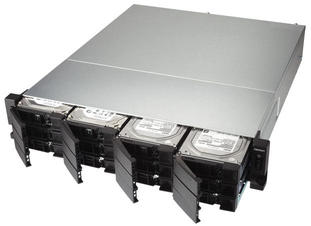 Możliwość zwiększenia możliwości serwera NAS dzięki karcie rozszerzeń PCIe