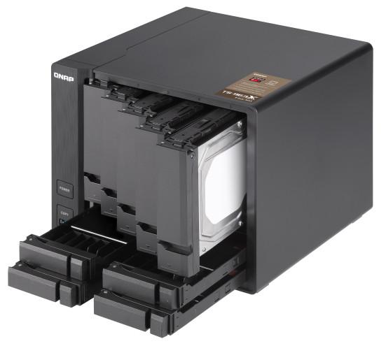 Zwiększenie wydajności dzięki dyskom SSD i technologii Qtier