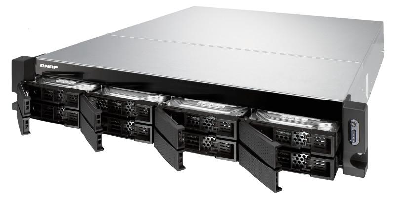 Wbudowane porty 10GbE SFP+ przyspieszają pracę