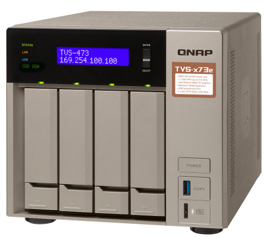 Większa wydajność dzięki pamięci podręcznej SSD i łączności 10GbE