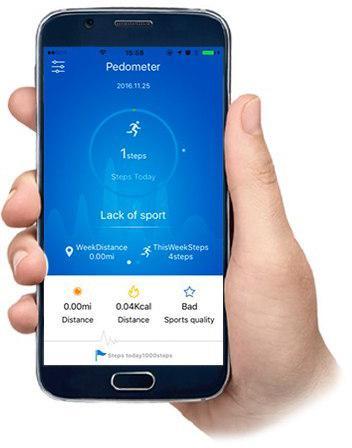 Połączenie Bluetooth 4.1 z aplikacją