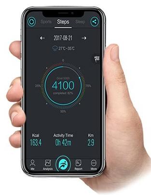 Połączenie Bluetooth 4.0 z aplikacją