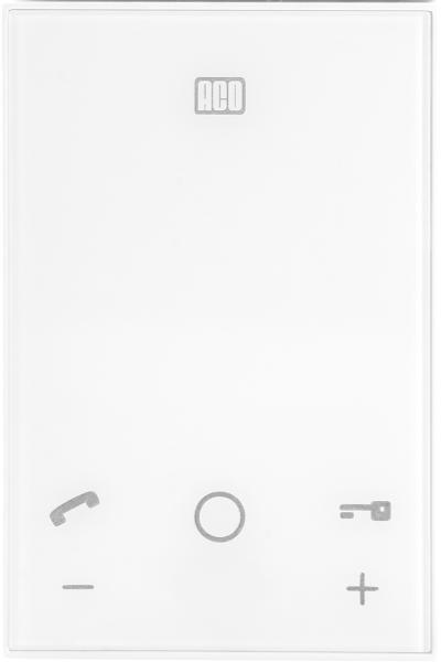 ACO UP800/G2 UNIFON - do systemu P głośnomówiący, płaski front z dotykowymi ikonami funkcyjnymi