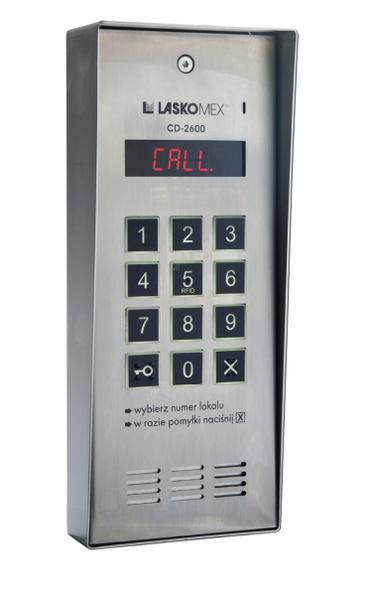 Laskomex CD-2600R audio z czytnikiem kluczy RFID