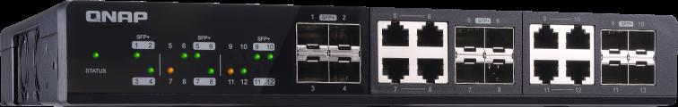 Elastyczne wdrażanie dzięki zastosowaniu ośmiu portów typu combo
