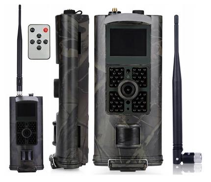 KAMERA LEŚNA FOTOPUŁAPKA HC700G v2018 3G - praca w technologii 3G