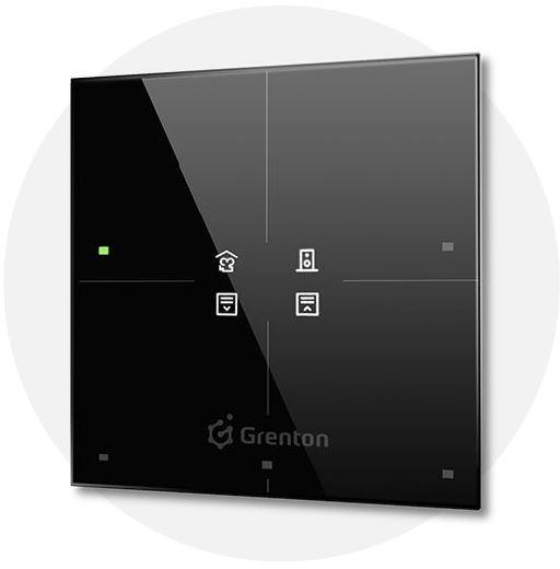 GRENTON - SMART PANEL 4B, OLED, TF-Bus, CZARNY