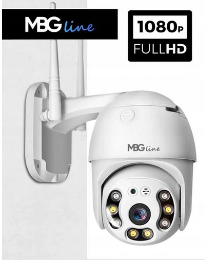 VONKAJŠIA OTOČNÁ KAMERA IP 1080P FHD H.265 NA ZÁKLADU