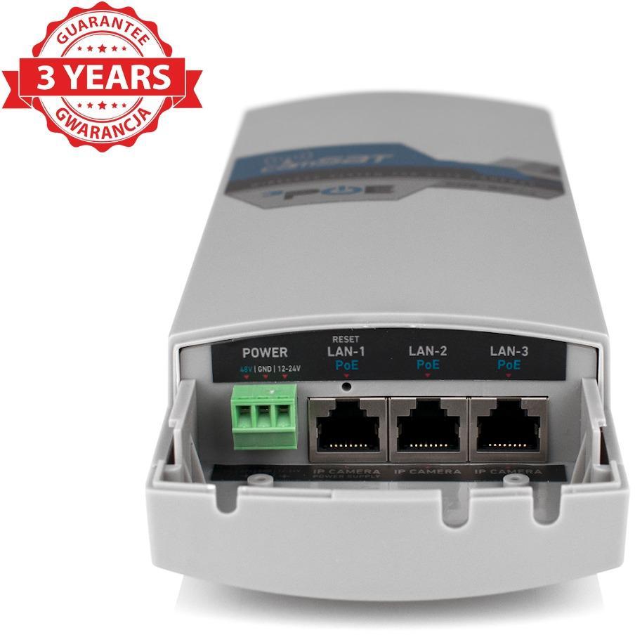 Wysoce wydajna transmisja bezprzewodowa do kamer IP