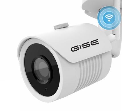 Kamrę WIFI GISE 5MPX GS-IP5S-V2 charakteryzuje: