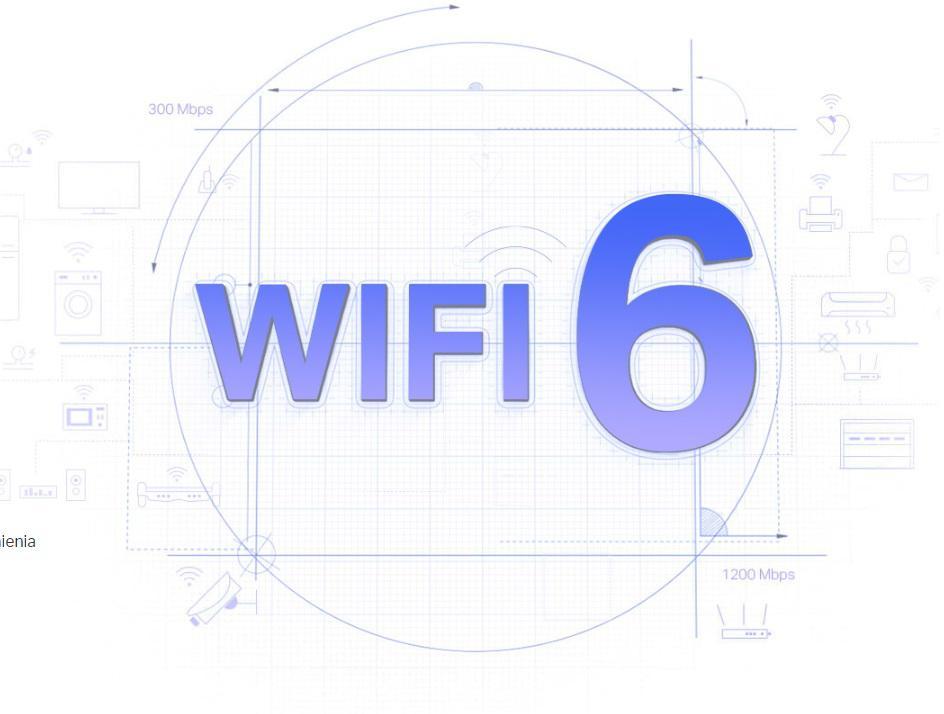 Najlepszy zasięg. Najszybsza sieć Wi-Fi nowej generacji.