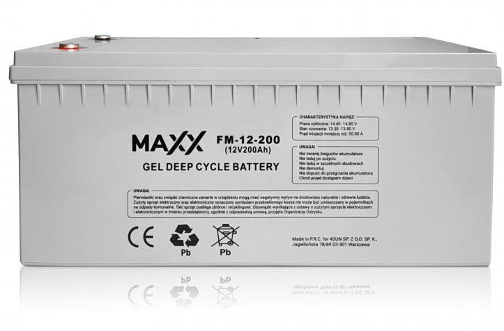 Akumulator 200Ah - 4SUN