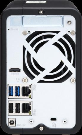 Usprawnij swój system NAS dzięki sieci 2,5 GbE