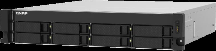 Czterordzeniowy 1,7GHz NAS w obudowie typu RACK z dwoma portami 10GbE SFP+ i 2,5GbE dla środowisk IT w małych i średnich firmach