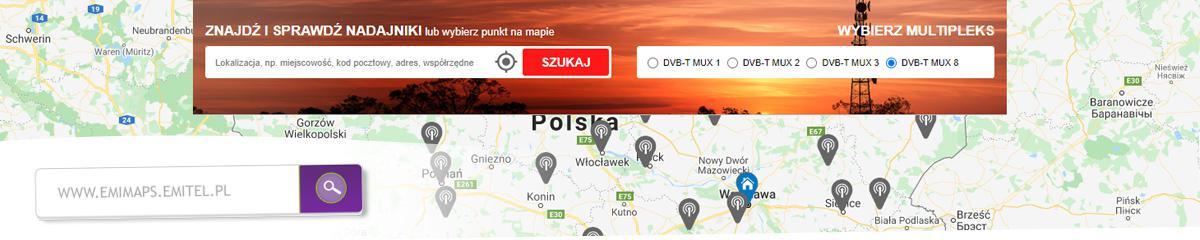 Jak sprawdzić nadajnik TV, z którego są nadawane kanały telewizyjne w Twojej lokalizacji/okolicy?