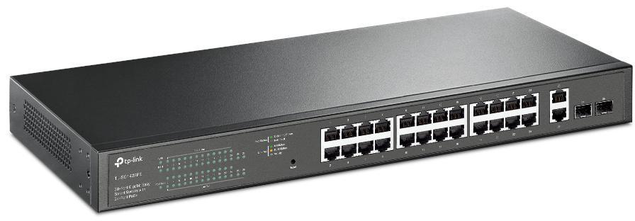 Przełącznik stworzony do wielu zastosowań 24 portów PoE+ o łącznej mocy 250 W