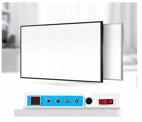 Precyzyjny termostat - możliwość sterowania za pomocą panelu na grzejniku oraz aplikacji