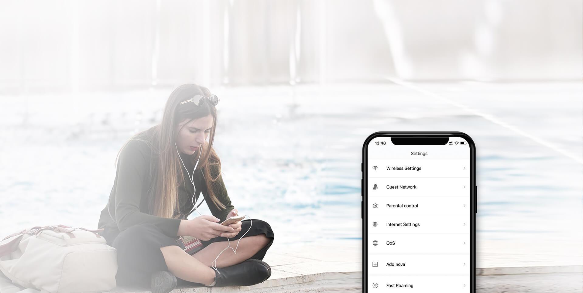 Zdalna kontrola przez aplikację