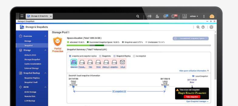 Ochrona danych przed złośliwym oprogramowaniem przy użyciu Migawek