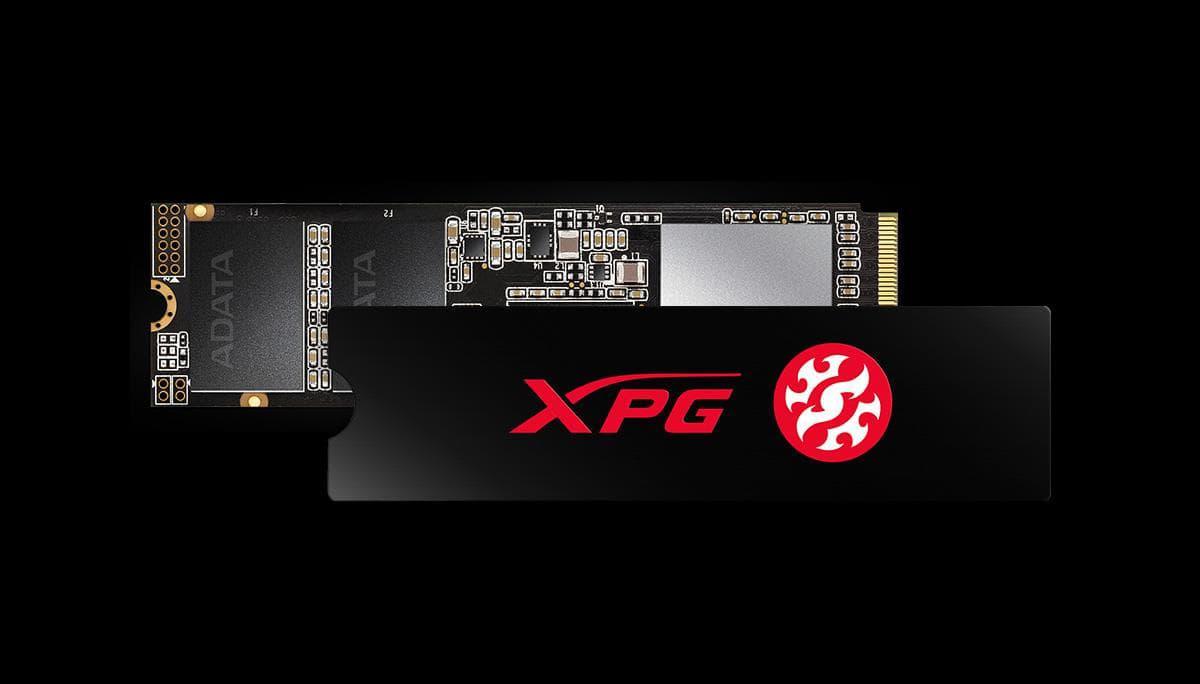 Radiator XPG w zestawie