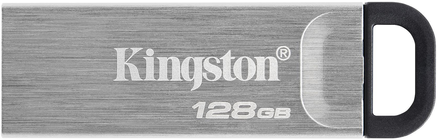 Pamięć flash USB DataTraveler Kyson w stylowej metalowej obudowie bez zatyczki