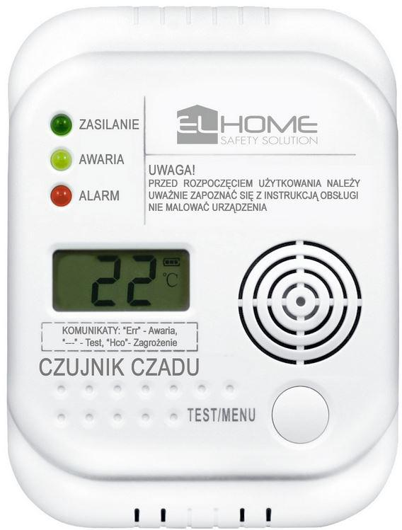 CZUJNIK CZADU EL HOME CD-77A4
