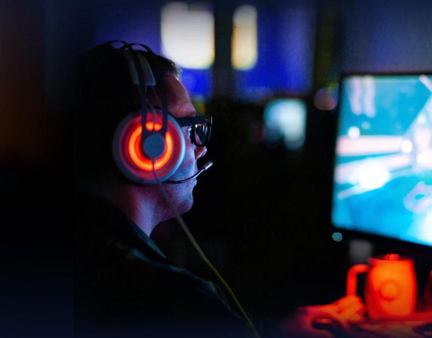 Moc idealna do wspólnych rozgrywek w sieci LAN