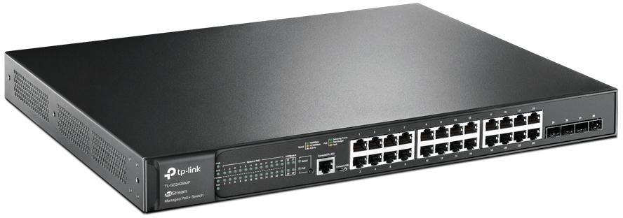 Przełącznik stworzony do wielu zastosowań 24 porty PoE+ o łącznej mocy 384 W