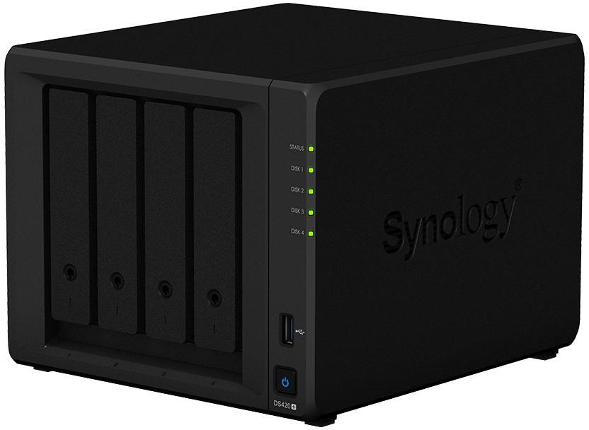 Wydajny serwer NAS z funkcją przyspieszenia pamięci podręcznej SSD