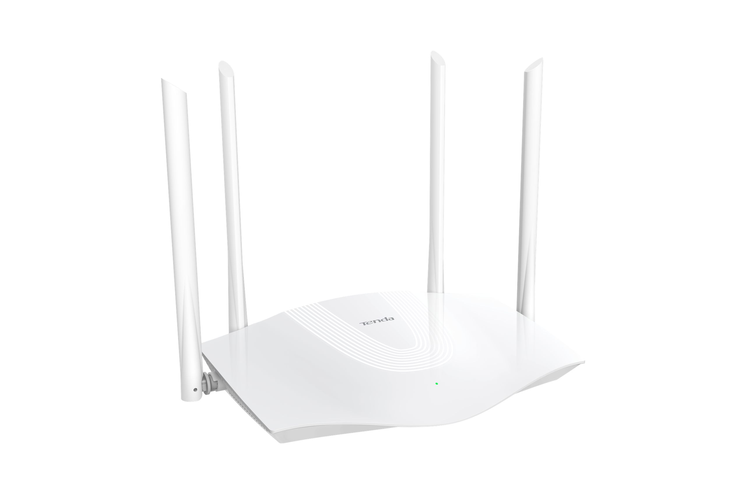 Dwupasmowy, gigabitowy router WiFi 6 AX1800
