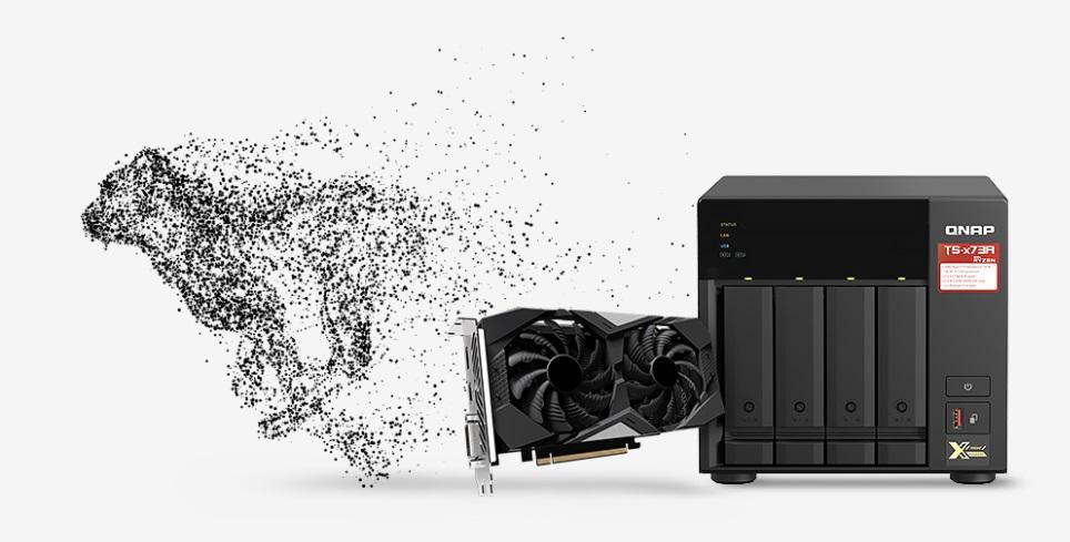 Zainstaluj kartę graficzną w celu zwiększenia mocy obliczeniowej przy użyciu GPU