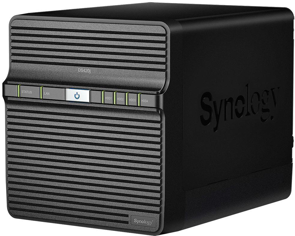 Niezawodny 4-kieszeniowy domowy serwer NAS do tworzenia kopii zapasowych danych