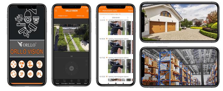 Darmowa Polska Aplikacja (Kamera pracuje również na aplikacji ORLLO VISION)