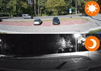Kamera Zewnętrzna  na Podczerwień Monitoring Przez Internet