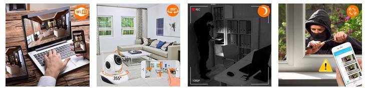 Monitoring bezprzewodowy przez telefon z podglądem na żywo z każdego miejsca na świecie
