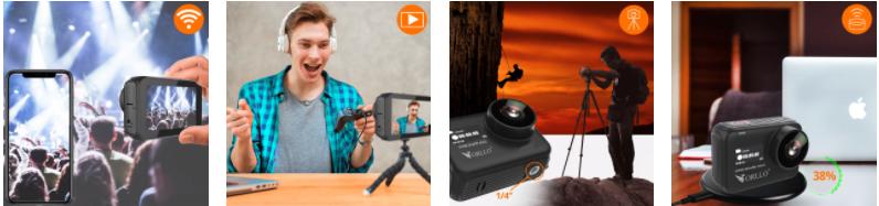 Najlepsza kamera dla Vlogera! Podgląd na żywo, Facebook, Youtube itp!