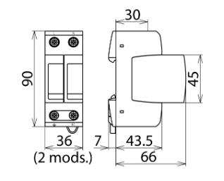 Schemat połączeń oraz wymiary