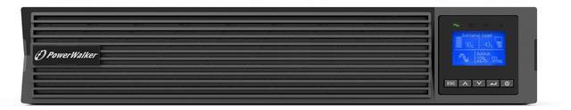 Wszelkie informacje o stanie UPS widoczne są na wbudowanym wyświetlaczu LCD