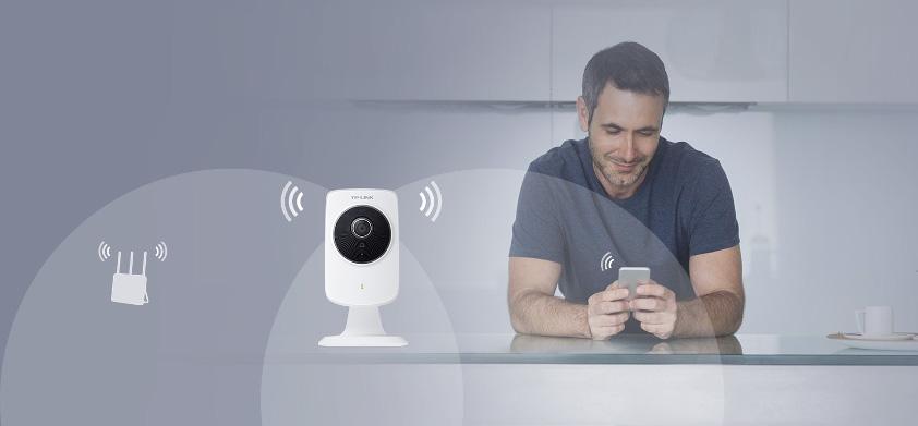 Połączenie bezprzewodowe 300mb/s dla płynnej transmisji wideo i szerokiego zasięgu