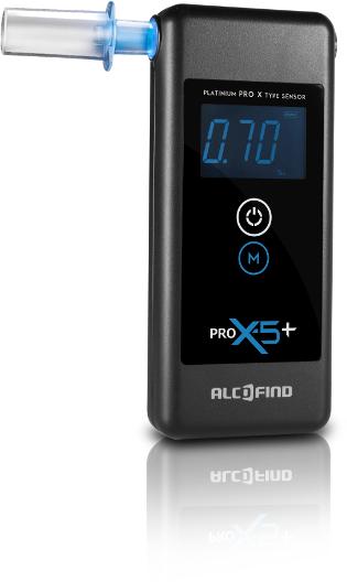 Alkomat elektrochemiczny AlcoFind PRO X-5+