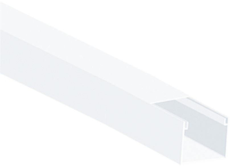 LISTWA INSTALACYJNA KPL (PACZKA 8 szt.) 90mm x 40mm, długość 2m